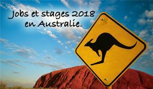 JOBS ET STAGES D'ETE EN AUSTRALIE 2018