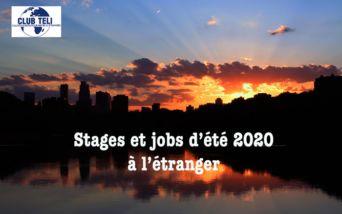Jobs et stages 2020