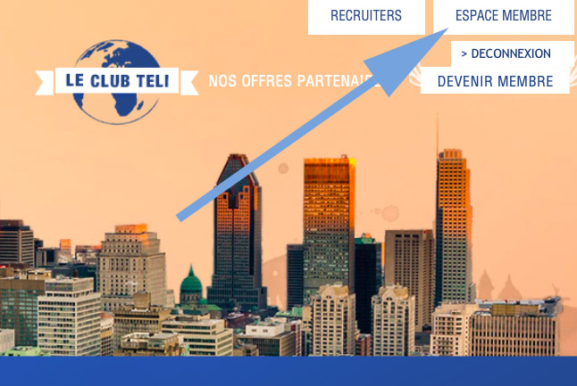 CONNEXION CLUB TELI