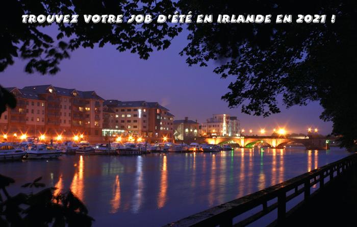 Jobs d'été en Irlande 2021