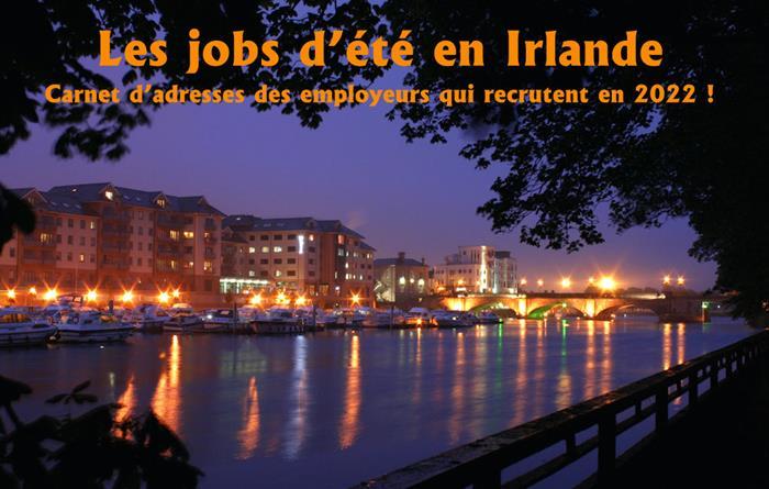 Jobs d'été en Irlande 2022
