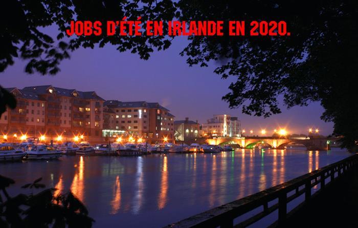 Jobs d'été en Irlande 2020