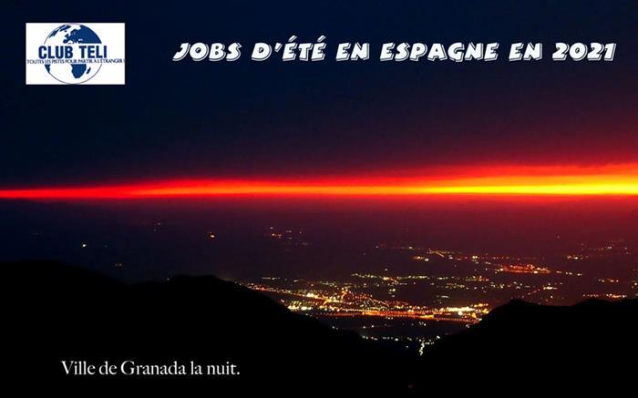 Jobs d'été en Espagne 2021