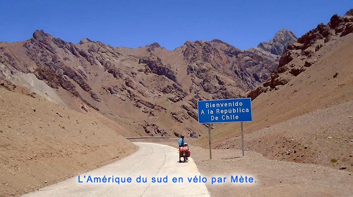 Amérique du sud en vélo