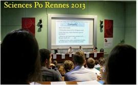 Conférence à Sciences Po