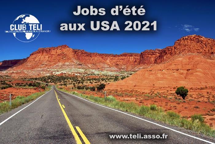 Jobs d'été aux USA 2020