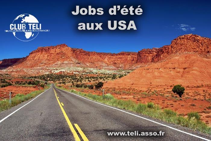 Jobs d'été aux USA 2022